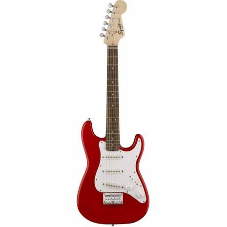 Squier Mini Stratocaster Electric Guitar - Torino Red