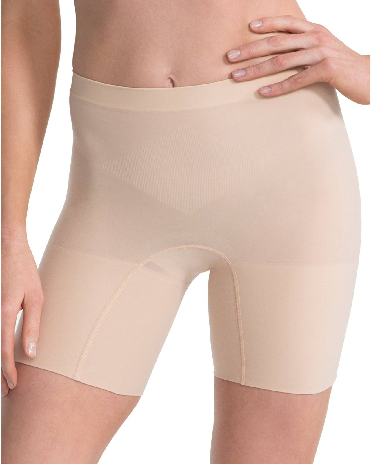 Spanx Women's Power Shorts - Soft Nude, 3X Plus, Medium