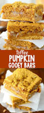 Cake Mix And Pumpkin by Toffee Pumpkin Gooey Bars Crazy For Crust