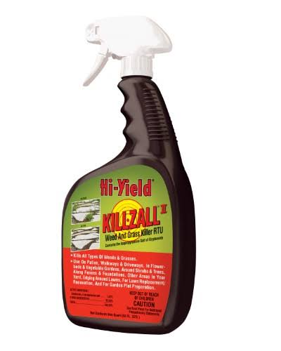 Hi Yield Killzall II Herbicide Weed and Grass Killer - 32oz