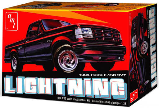 AMT 1994 Ford F-150 Lightning Pickup Truck Model Kit