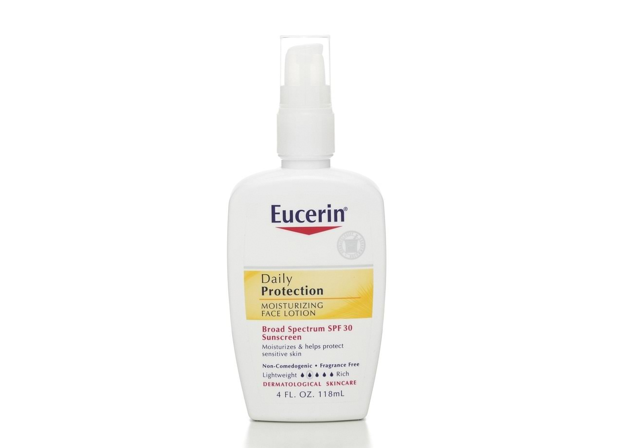 Eucerin Daily Protection Light Broad Spectrum Sunscreen Moisturizing Face Lotion - SPF 30, 4 fl oz