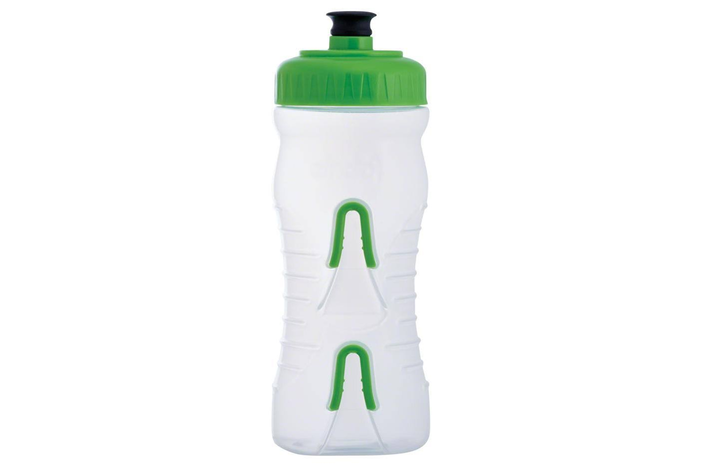 Fabric Water Bottle - Clear Green, 600ml