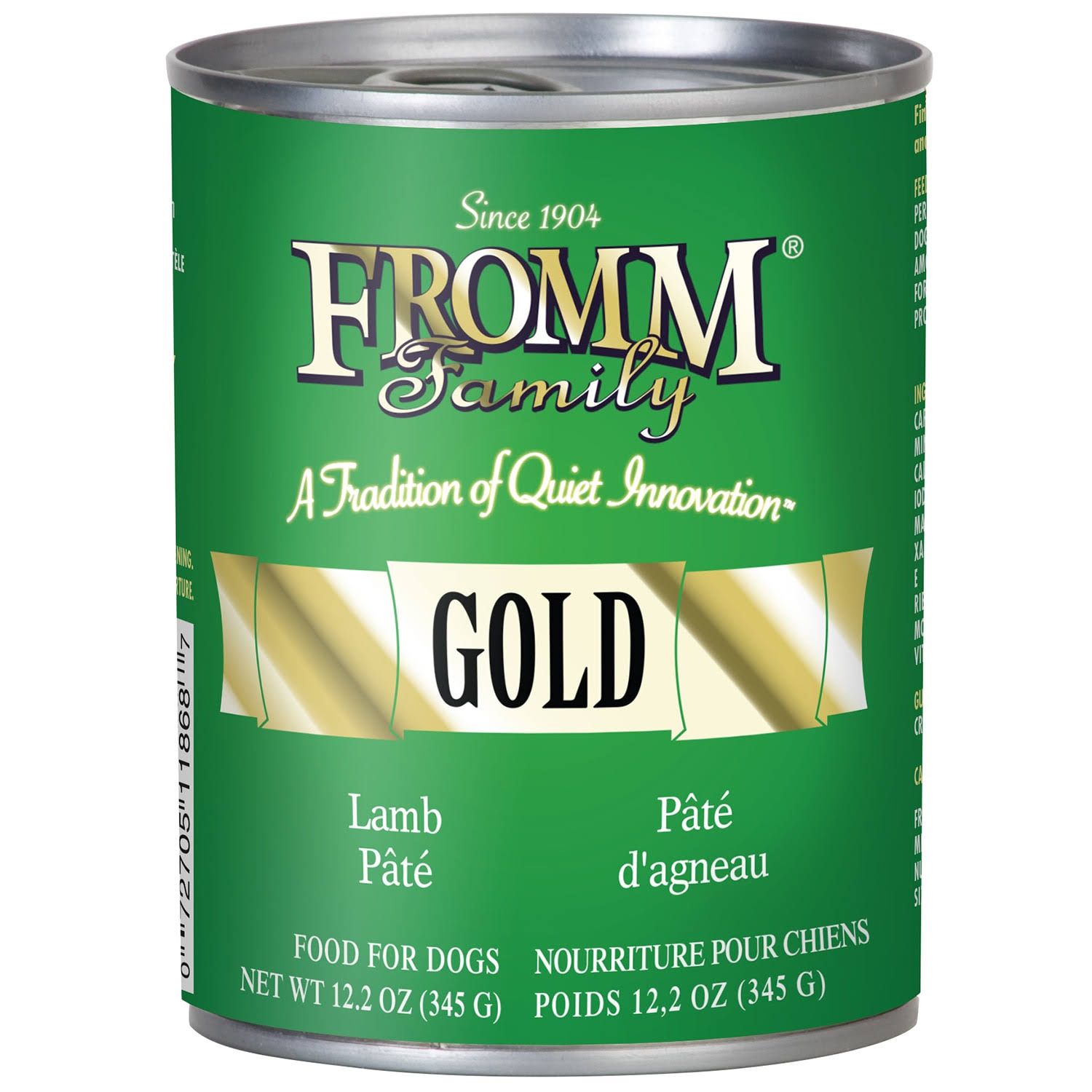 Fromm Gold Lamb Pate Dog Wet Food 12.2oz