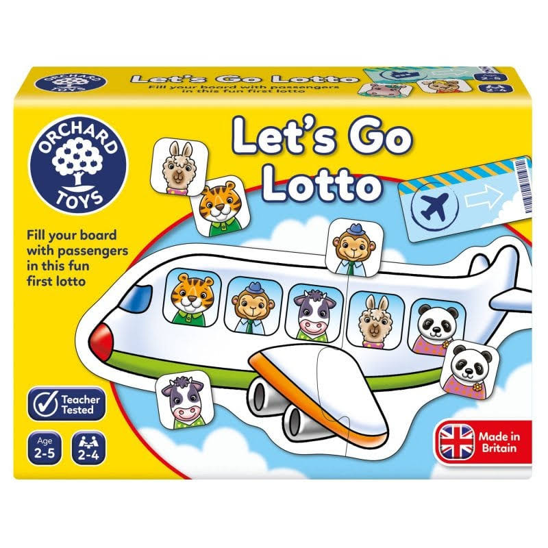 Orchard Toys - Lets Go Lotto Game