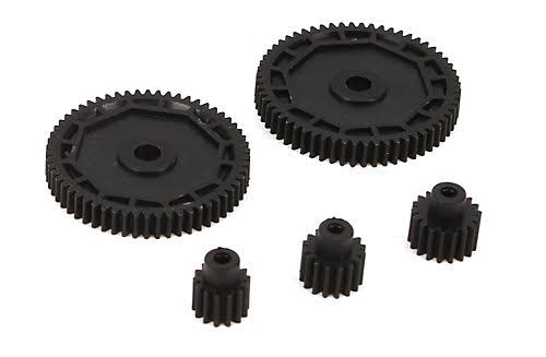 ECX RC Model Vehicle Part Pinion and Spur Gear Set - Scale 1:18