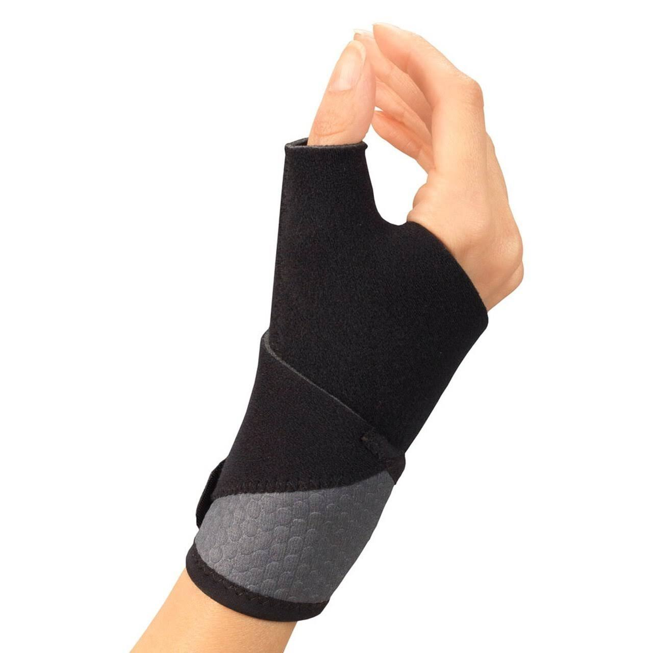 Champion Airmesh Wrist-Thumb Support, Black, Universal