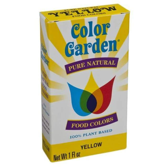 Color Garden Natural Yellow Food Coloring