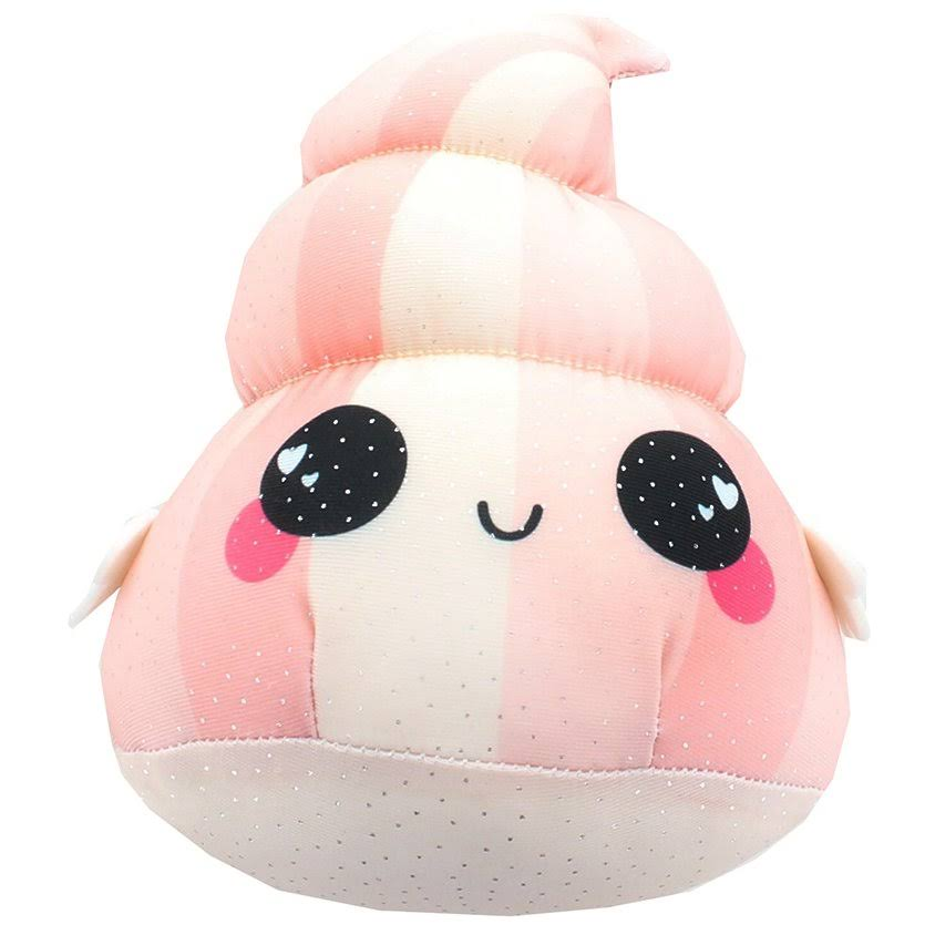 Se7en20 Glitter Galaxy 6-Inch Pink Poop Collectible Plush