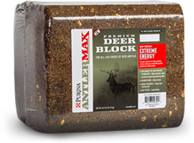 Purina Premium Deer Block, 20 lbs.