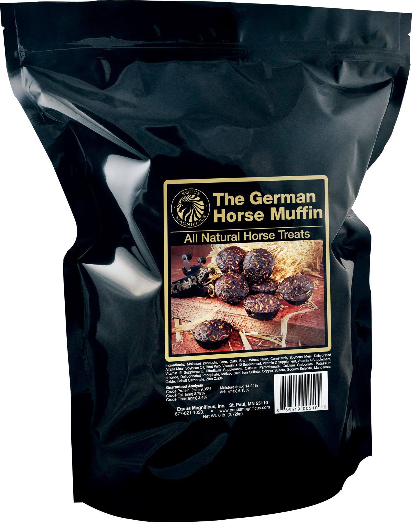 Equus Magnificus German Horse Muffins - in Ziploc Pouch, 6lbs