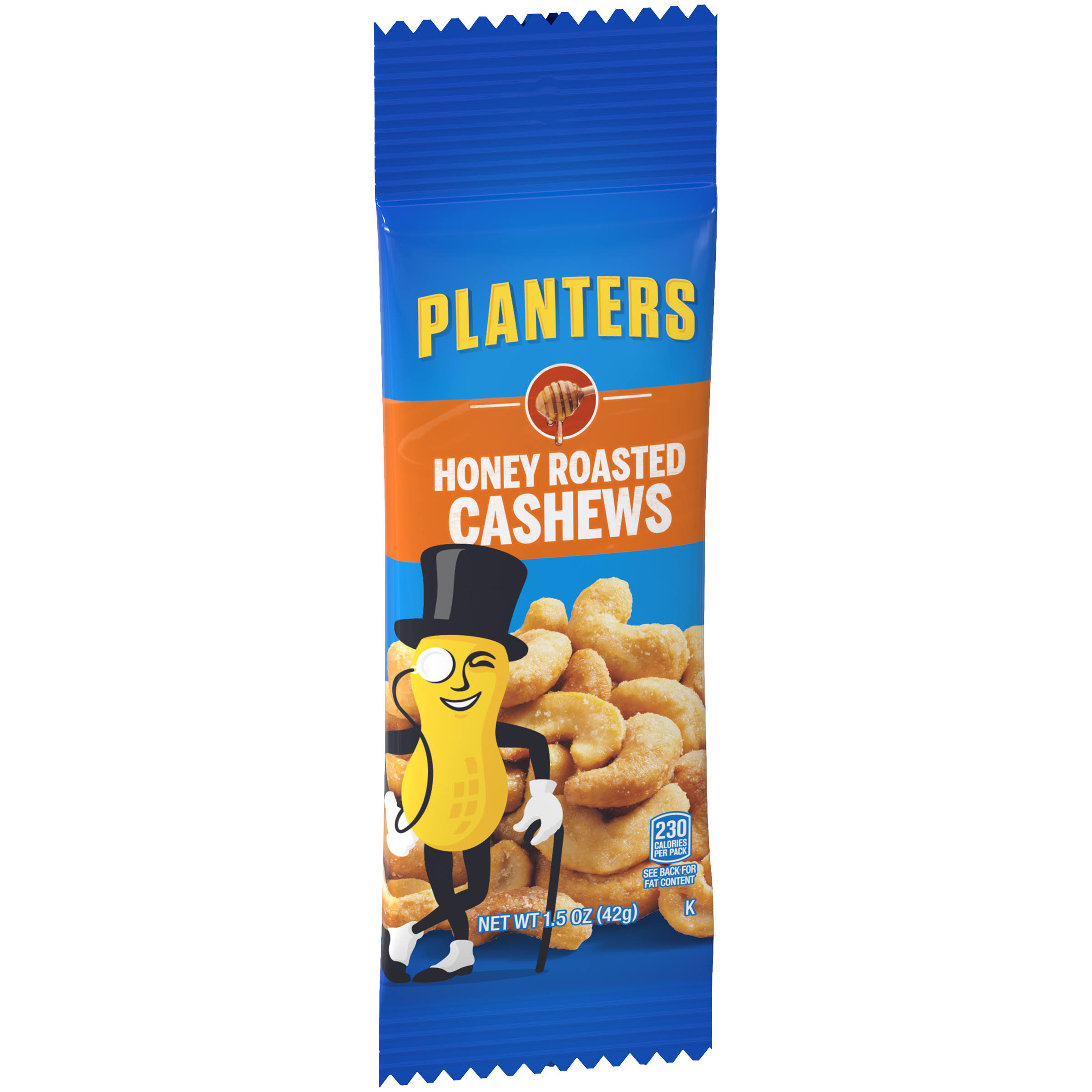 Planters Cashews, Honey Roasted - 1.5 oz