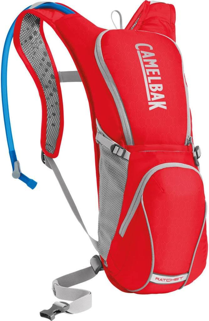 CamelBak Ratchet Hydration Backpack - Racing Red/Silver, 3l