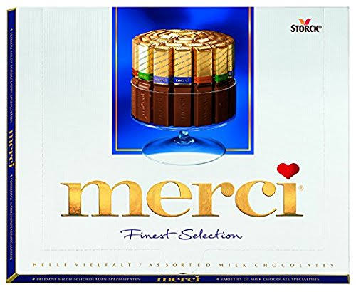 Merci Finest Assortment of European Milk Chocolates - 8.8oz