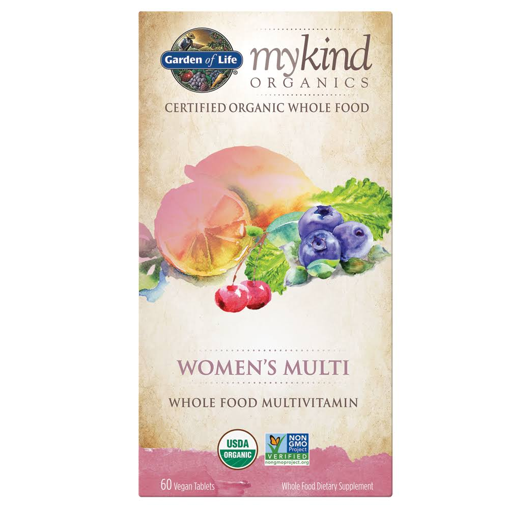 Garden of Life My Kind Organics Whole Food Multivitamin - 60 Tablets