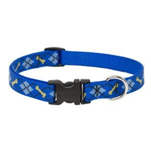 Lupine Adjustable Dapper Dog Design Dog Collar
