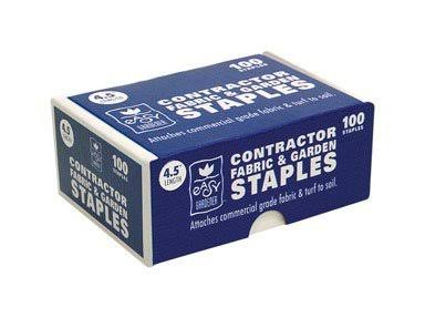 Easy Gardener Fabric & Garden Staples - 4 in, 100 ct