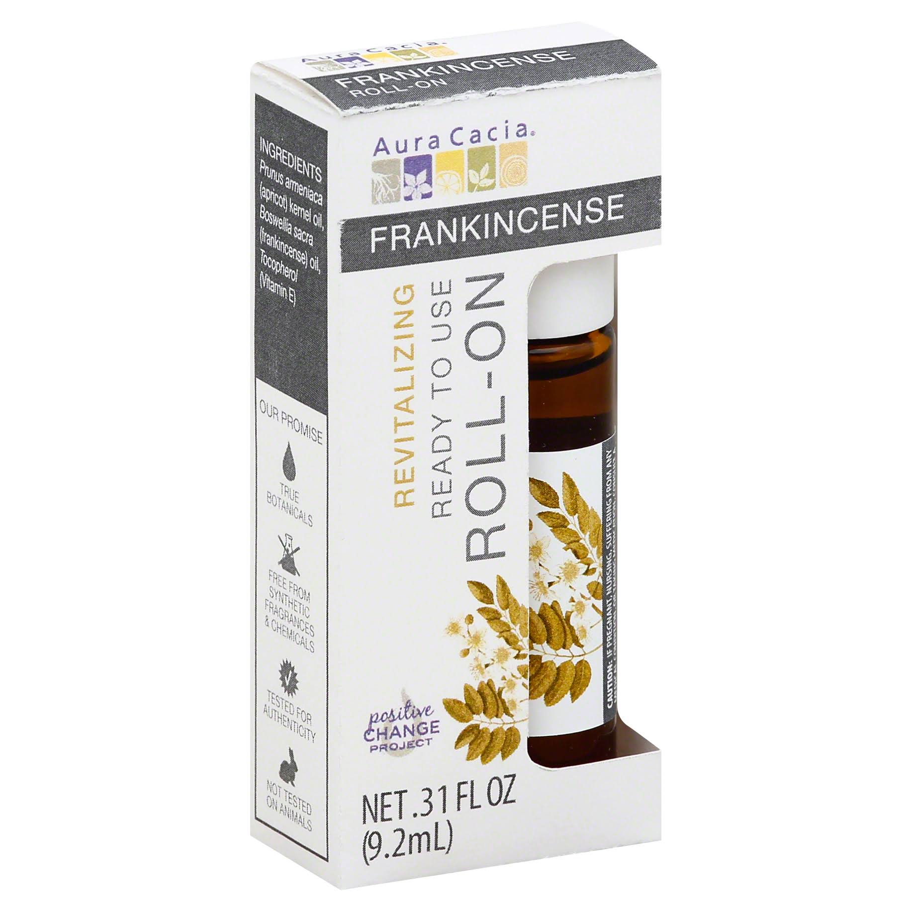 Aura Cacia Roll-On Essential Oil - Frankincense, 10ml