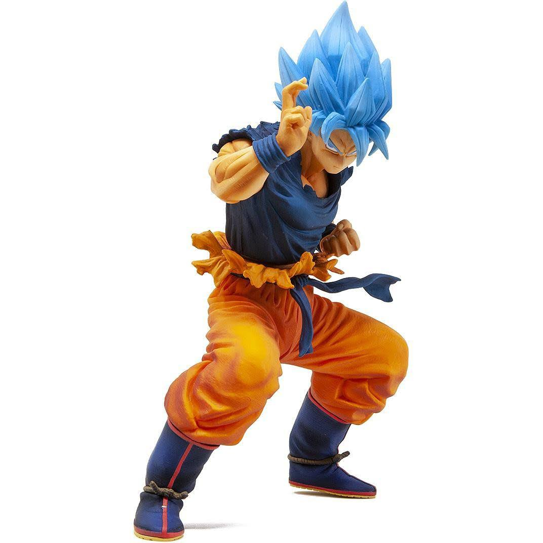 Dragon Ball Super Masterlise Super Saiyan God Super Saiyan Goku Figure