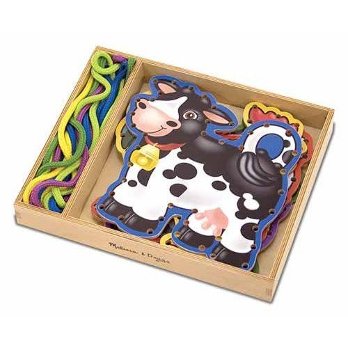 Melissa & Doug - Lace and Trace Farm Animals