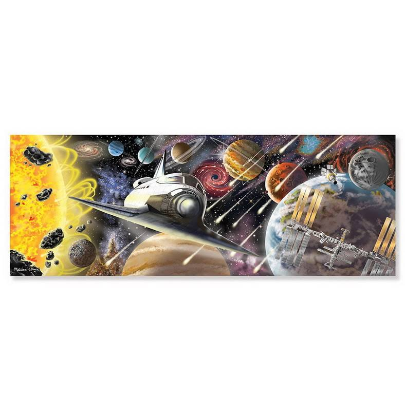Melissa & Doug Exploring Space Floor Jigsaw Puzzle - 200 Piece