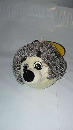 Petlou EZ Squeaky Ball Dog Toy - Hedgehog 4""