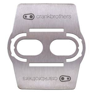 Crank Brothers Bike Shoe Shields - Stainless Steel