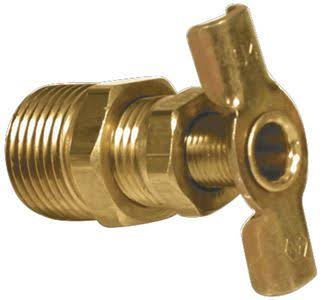 Camco 11683 Water Heater Drain Valve - 3/8""