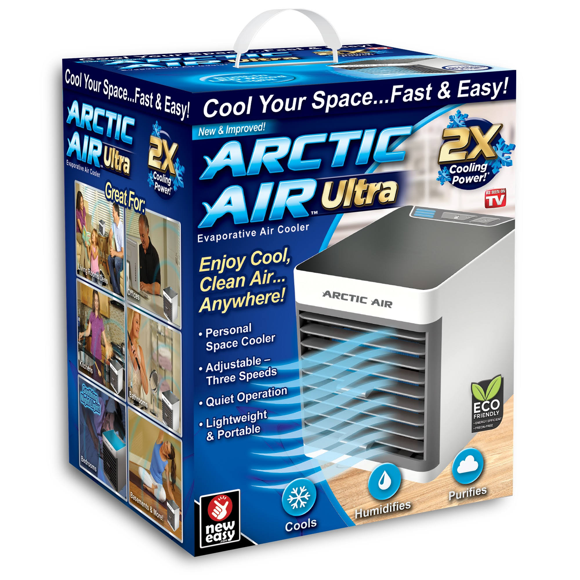 Arctic Ultra Portable in Home Air Cooler