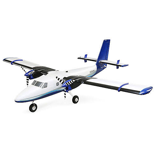 E Flite Twin Otter 1.2m BNF Basic with AS3X and Safe EFL30050