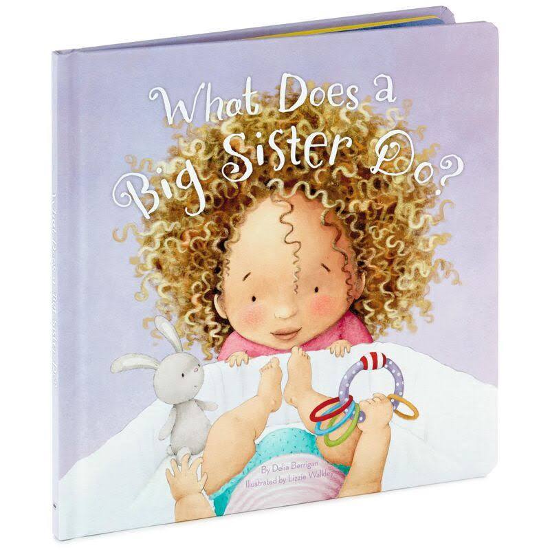 Hallmark What Does A Big Sister Do? Book