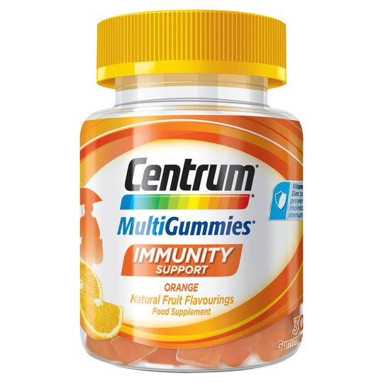 Centrum MultiGummies Immunity Support Food Supplement - 30 Pack