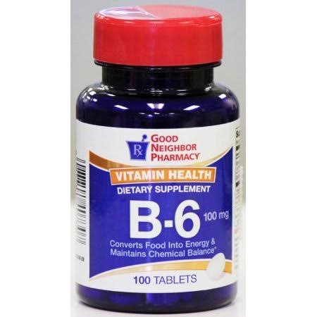 GNP Vitamin Health B-6 Dietary Supplement (100mg)