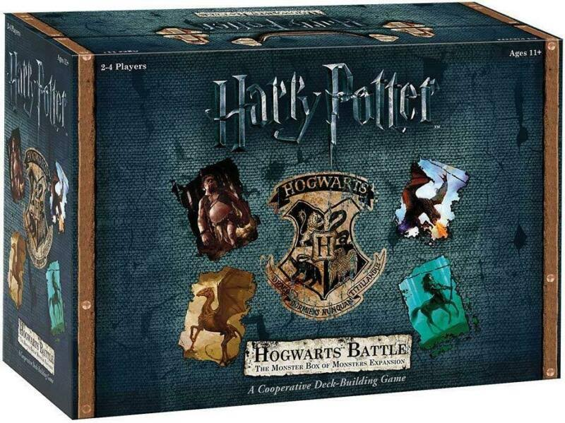 USAopoly Harry Potter: Hogwarts Battle The Monster Box of Monsters Expansion Card Game
