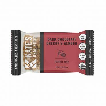 Kate's Real Food Handle Bar, Dark Chocolate Cherry & Almond - 2.2 oz