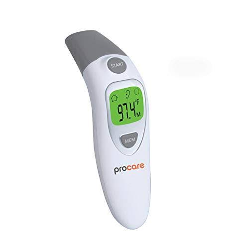 Procare Ear and Forehead Non Contact Infrared(IR) Thermometer