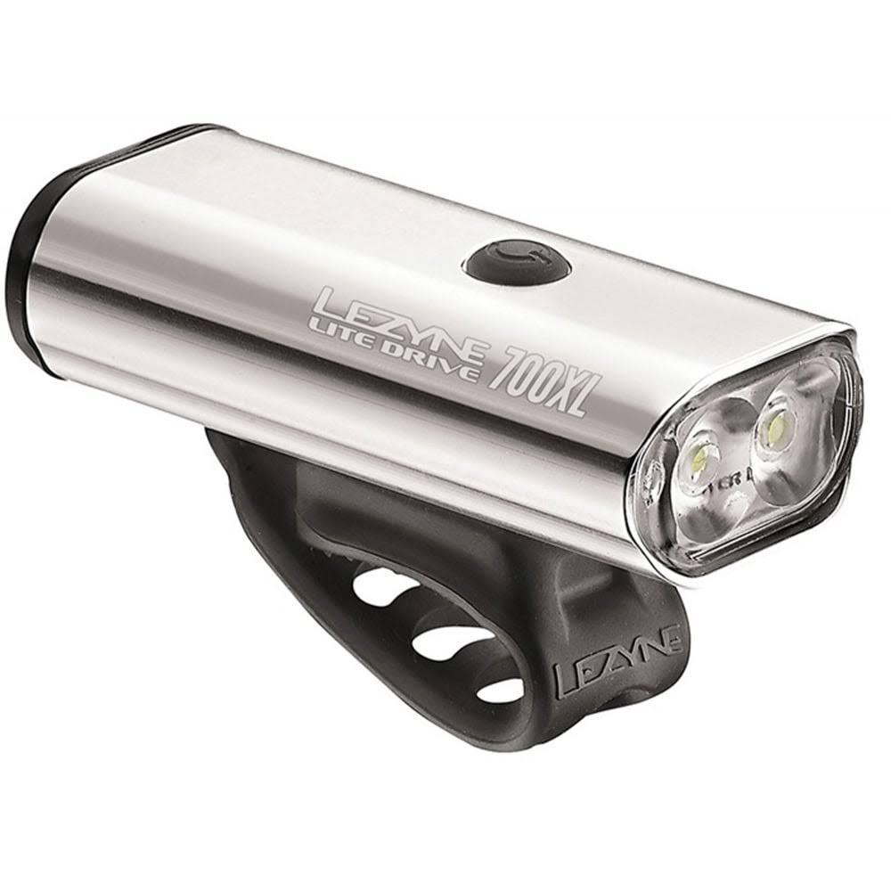 Lezyne Lite Drive 700XL Bicycle Front Light - Silver