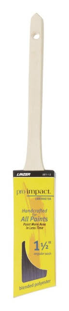 Linzer Pro Impact Contractor Angled Paint Brush - 1-1/2in