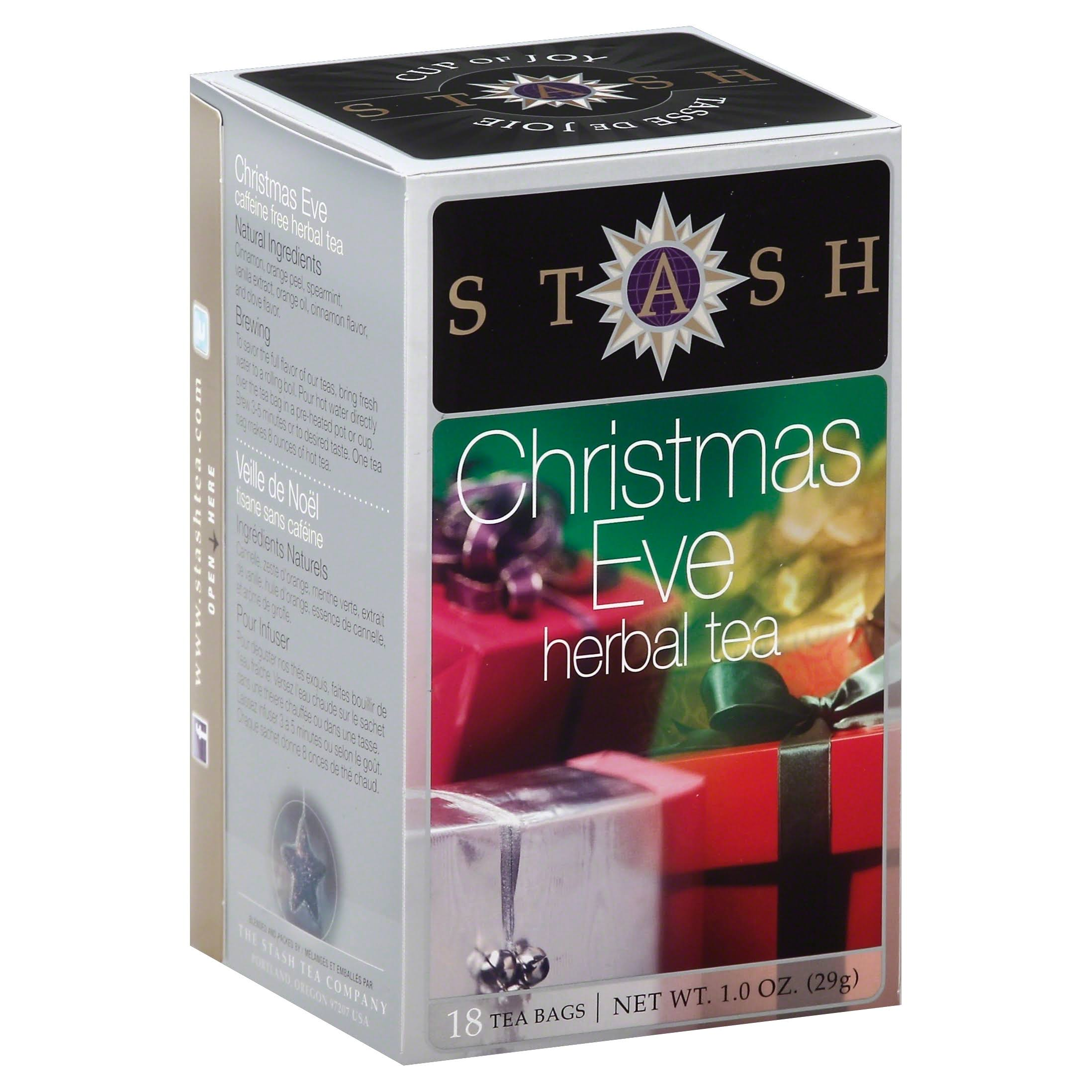 Stash Premium Christmas Eve Herbal Tea - 18 Tea Bags