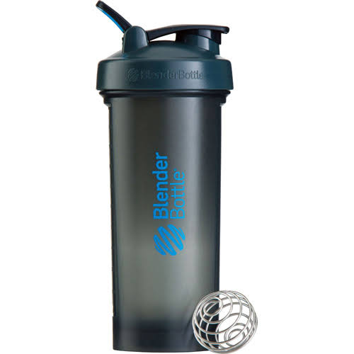 Blender Bottle Pro45 Extra Shaker Bottle - Large, Grey and Blue, 45oz