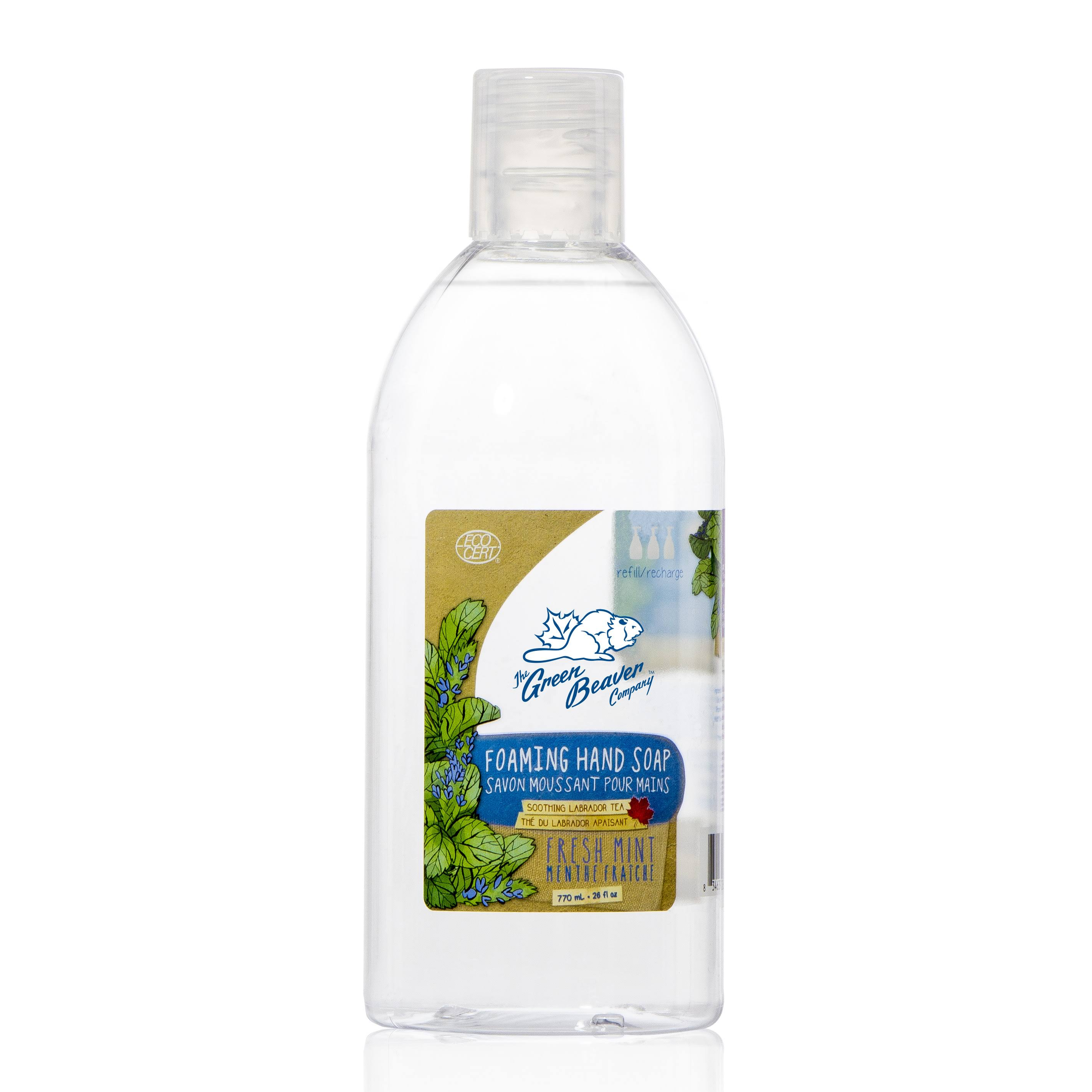Green Beaver Co. Foaming Hand Wash Fresh Mint Refill