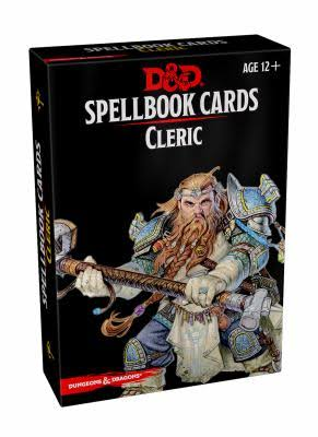 Spellbook Cards: Cleric - Wizards of the Coast
