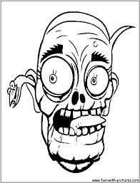 Evil Clown Pumpkin Stencils by Zombies Coloring Pages Scary Zombie Coloring Pages Coloring