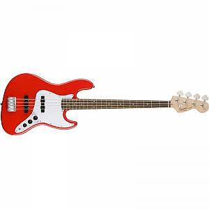 Squier Affinity Jazz Bass, Race Red