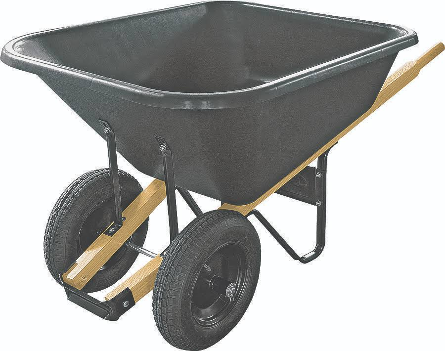 Truper Wheelbarrow Kit - Black