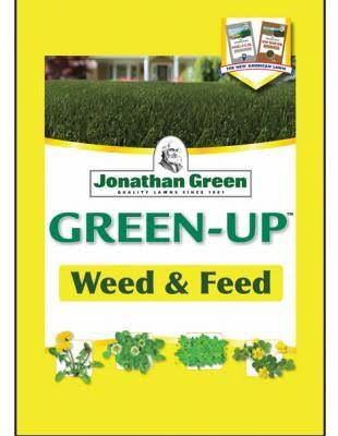 Green Up Weed and Feed Fertilizer - 15,000 square feet