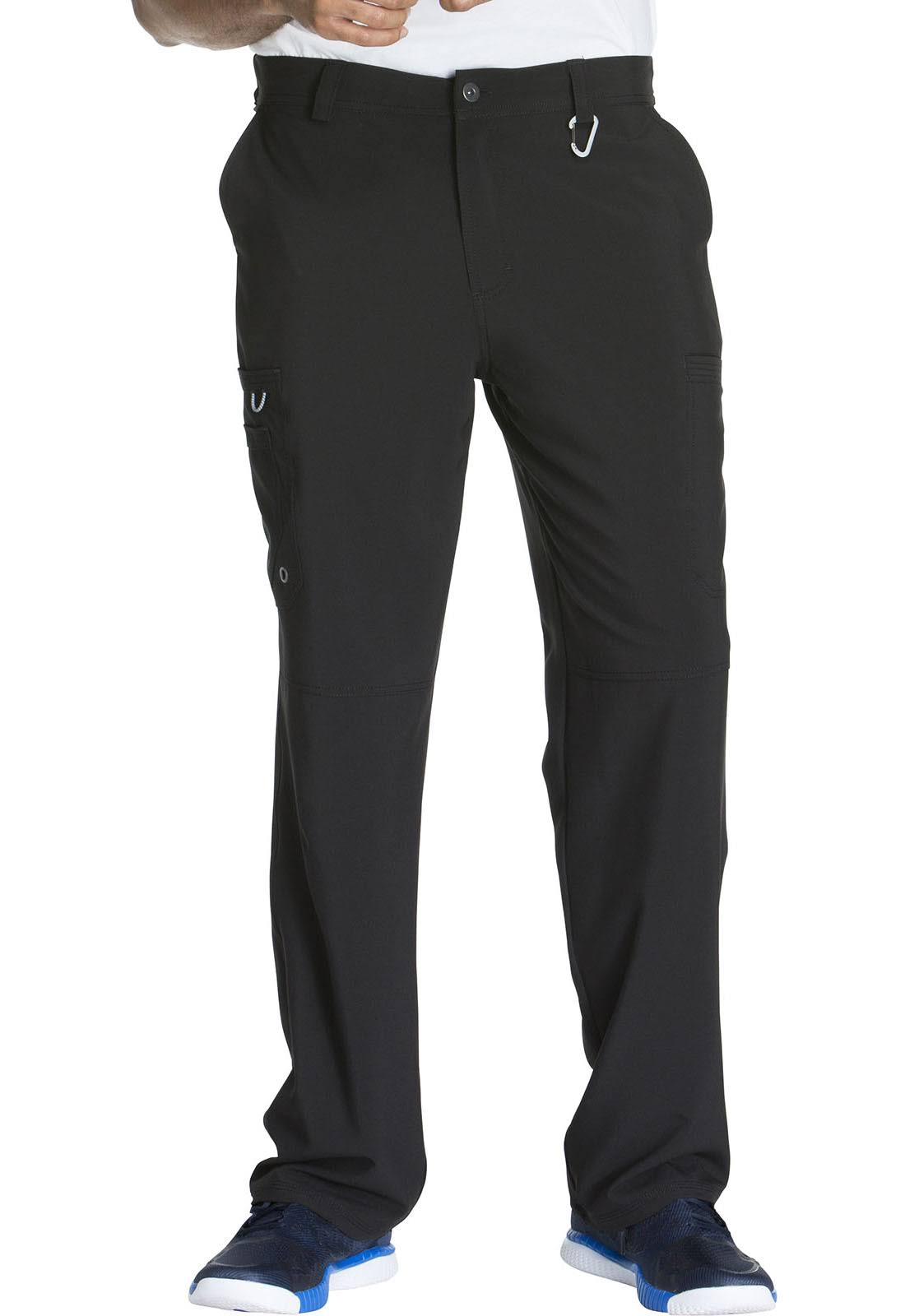 Cherokee CK200AS Men's Fly Front Pant - Black - XS