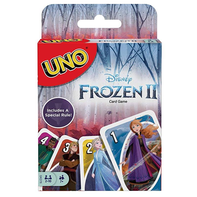 Uno Disney Frozen II Card Game