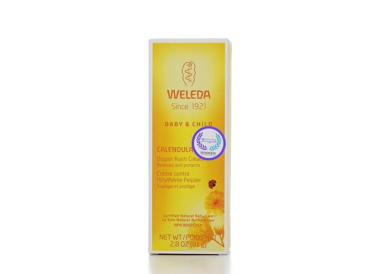 Weleda Diaper Care Cream, Calendula - 2.8 oz tube