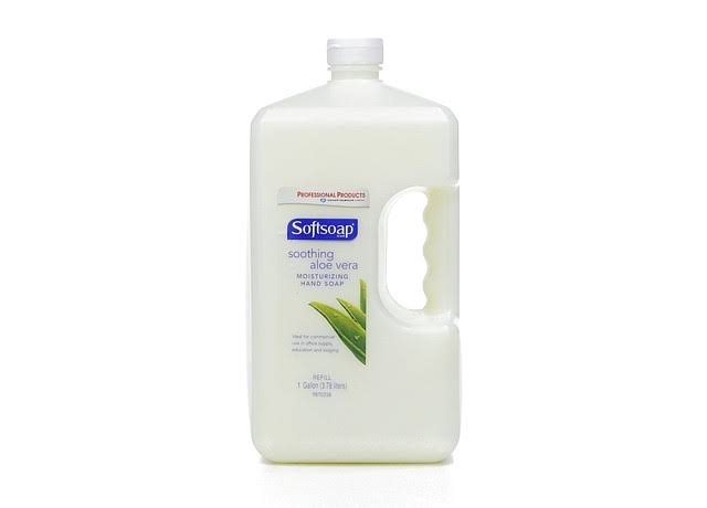 Softsoap Liquid Soap Refill - Soothing Aloe Vera, 3.78l
